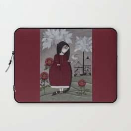 Winterbird, or Hope is a Thing With Feathers Laptop Sleeve