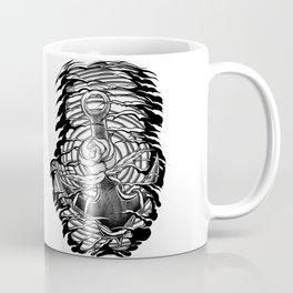 Rose and anchor Coffee Mug