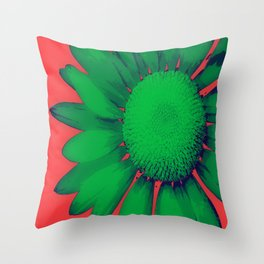 Daisy Dayz Throw Pillow