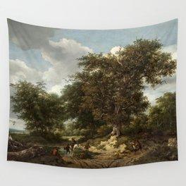 Jacob van Ruisdael - The Great Oak Wall Tapestry