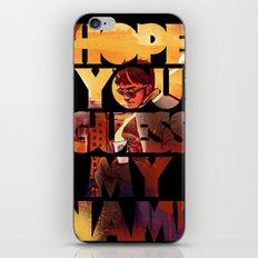 Hope you Guess my Name - Black iPhone & iPod Skin