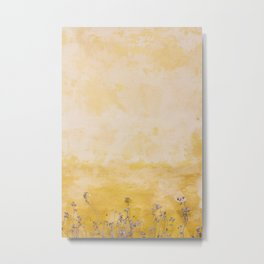 Wall Flower Metal Print