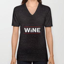 Wine Festival Bar Drinking Wine Woman Malle Unisex V-Neck