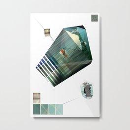 Galactic Metal Print