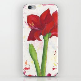 Amaryllis iPhone Skin