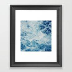 Sea Splash Framed Art Print