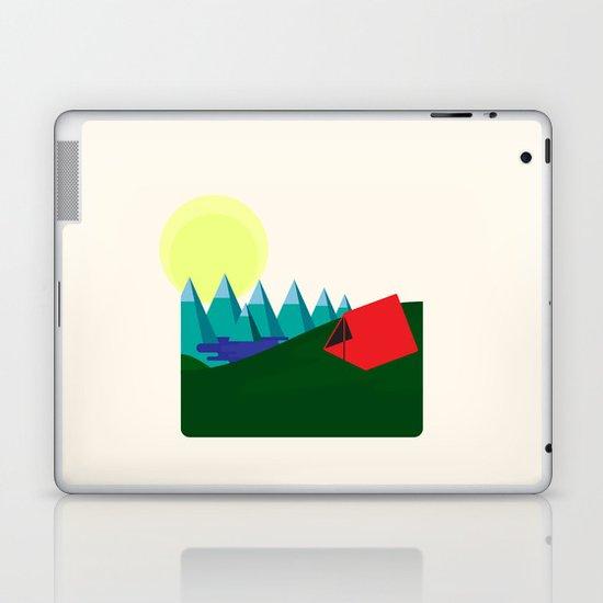 Camping is fun! Laptop & iPad Skin