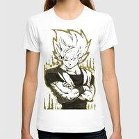 goku T-shirts featuring GOKU  by DeMoose_Art
