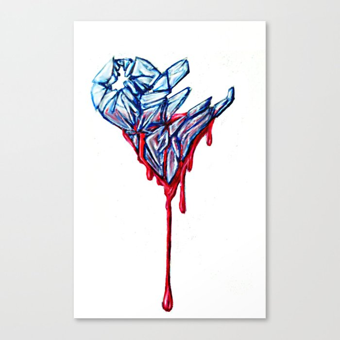 Cardiac Canvas Print