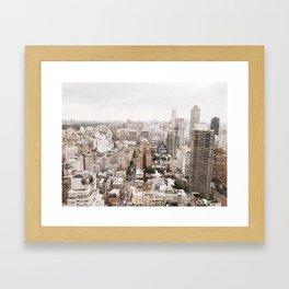 Rosy New York Framed Art Print