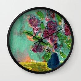 Spring Bouquet 1 Wall Clock
