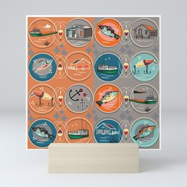 NEW FISHTOWN Mini Art Print