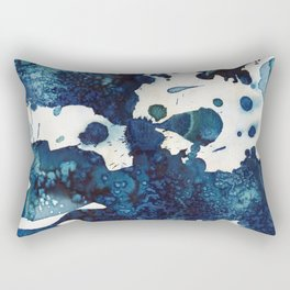 Cloudy skies and a few drops of rain. Rectangular Pillow