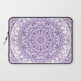 Feathers and Crystals Seen Laptop Sleeve