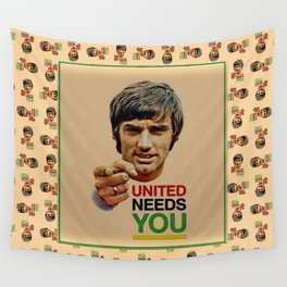 manchester united legend Wall Tapestry