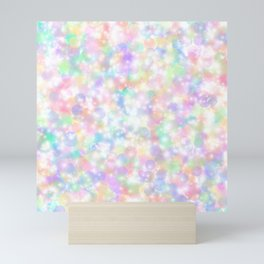 Rainbow Bubbles of Light Mini Art Print
