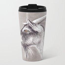 Little goat Metal Travel Mug