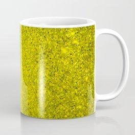Beryl Yellow Sparkling Jewels Pattern Coffee Mug