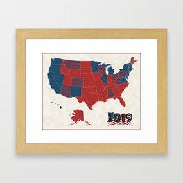 US Senate Framed Art Print