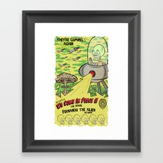 We Come In Peace II The Sequel G Framed Art Print