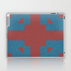 Blue & Red Noises Laptop & iPad Skin