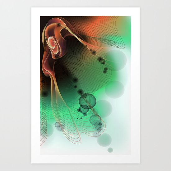 Jellyone Art Print