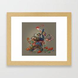 Tummy Ache Framed Art Print