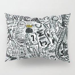 Black American Pillow Sham