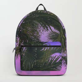 Purple Sky Palms Backpack