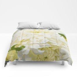 Cream Peonies   Flowers   Flower   Florals   Nadia Bonello   Canada Comforters