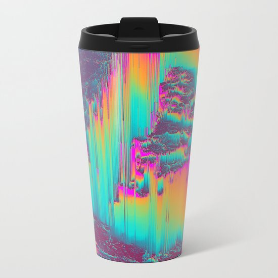 THERE'S NO LIE IN HER FIRE Metal Travel Mug