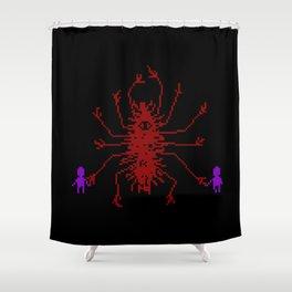 Unspeakable Shower Curtain