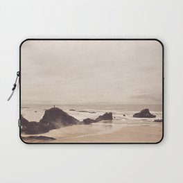 With the Sea as His Floor Laptop Sleeve