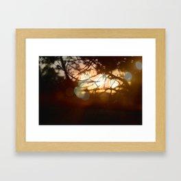 Invigorating Lights II Framed Art Print
