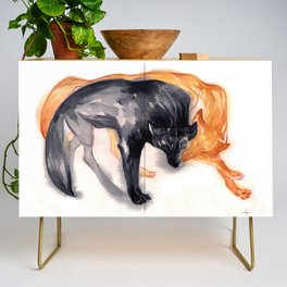Two Wolves Credenza