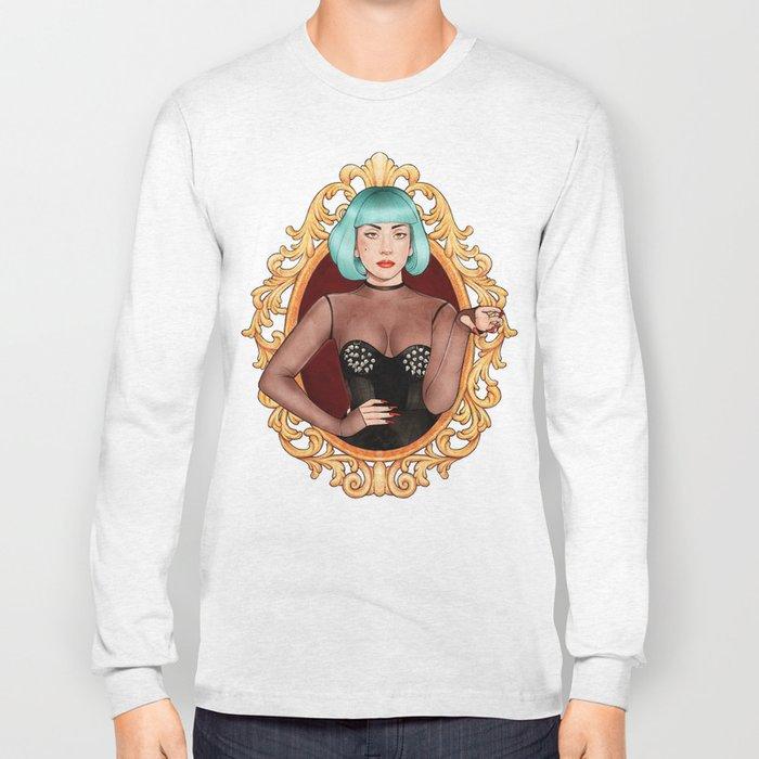 Teal Lady Long Sleeve T-shirt