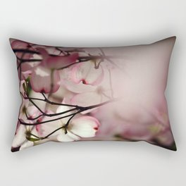 Under the Dogwood Tree Rectangular Pillow