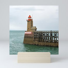 Fécamp Lighthouse Mini Art Print