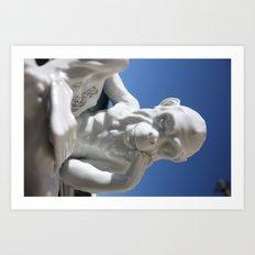 Alfredo Monkey Art Print