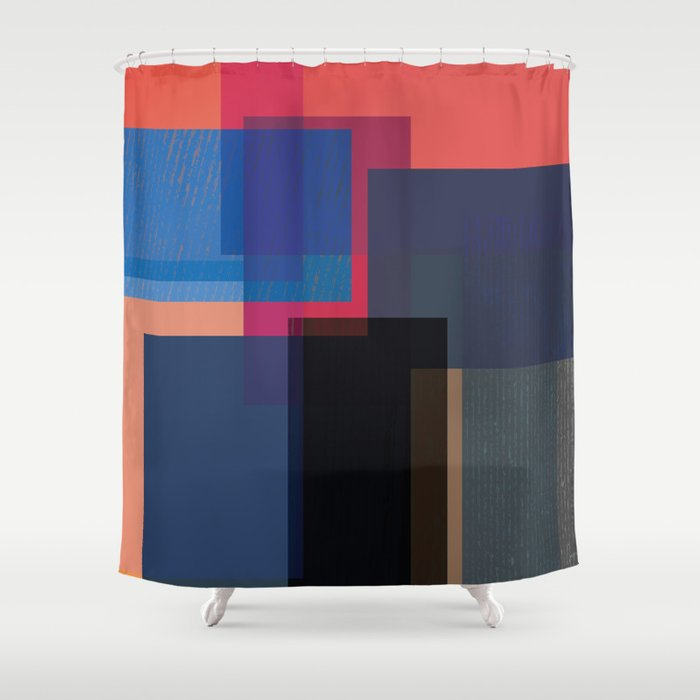 When the Walls Fall Shower Curtain