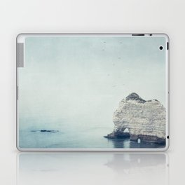 Falaise d'Amont - Côte d'Albatre Normandie France Laptop & iPad Skin