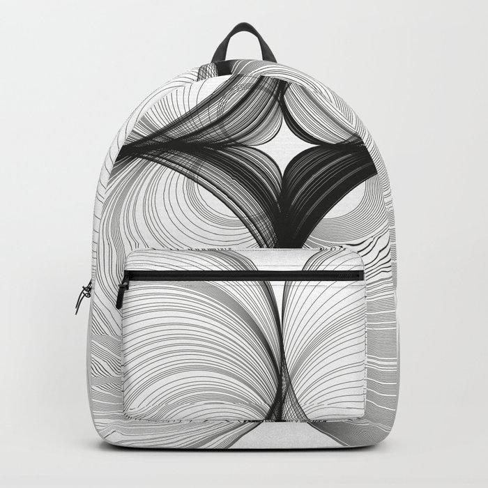 Paths dû aux circles Backpack
