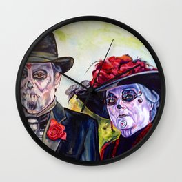Somos Novios (We are Sweethearts) Wall Clock