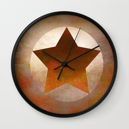 Star Composition VIII Wall Clock