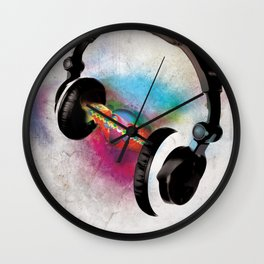 feeling sound Wall Clock