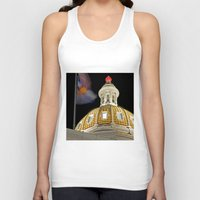 denver Tank Tops featuring Denver Capitol  by Andrew C. Kurcan