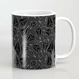 Paper Airplanes Black Coffee Mug