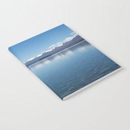 Blue line landscape Notebook