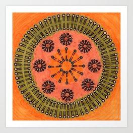 Vesicle Mandala 02 Art Print