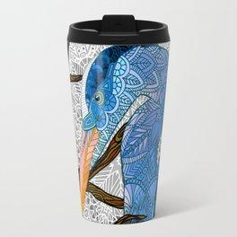 Egret Moon Travel Mug